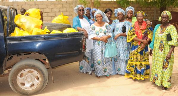 Place de la Nation ex-place de l'Obélisque : les femmes catholiques de Dakar organisent des journées foraines