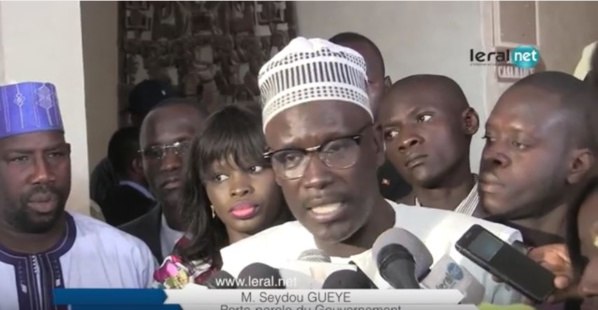 Seydou Guèye  : « La France s'est engagée à hauteur de plus de 548 milliards de FCfa dans le Pse »