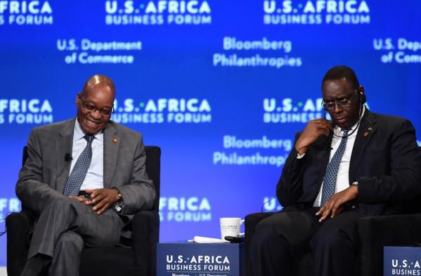 Visite d'Etat en Afrique du Sud : S.E.M. Macky Sall chez S.E.M. Jacob Zuma du 23 au 24 octobre 2017