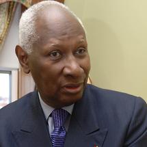 Abdou Diouf en vacances au Sénégal depuis hier, accueilli par Ousmane Tanor Dieng