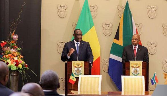 Lutte contre le terrorisme en Afrique : l'appel de Macky Sall depuis Cape Town