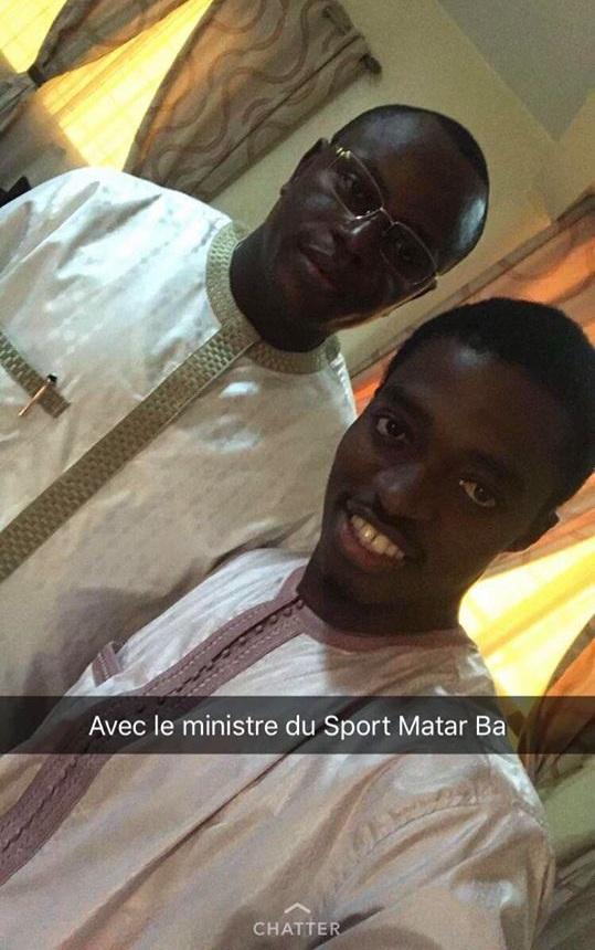 ( Photos) Les acteurs de la série Pod et Marichou reçus par le Ministre des Sports Matar Bâ