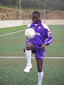 Real Madrid - Babacar Khouma pisté