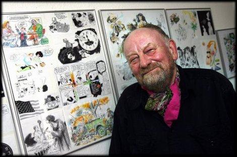 L'auteur d'une caricature de Mahomet agressé au Danemark