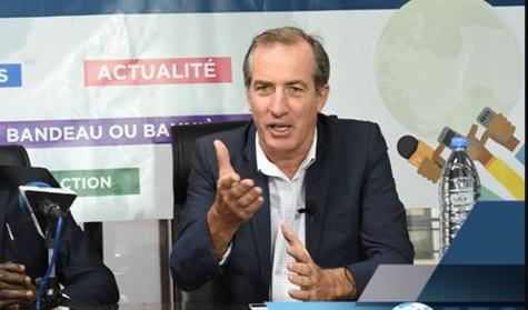 """Christophe Bigot, Ambassadeur de France au Sénégal:  """"Il appartient aux Africains de décider de l'avenir de leur monnaie""""."""