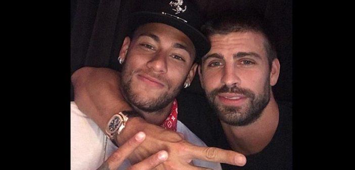 Pourquoi Neymar a rendu visite à son ancien coéquipier Gérard Piqué?