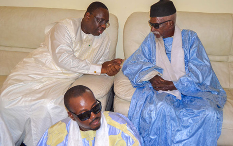 Touba : le Président Macky Sall déterminé à accompagner Serigne Cheikh Sidy Moctar ...