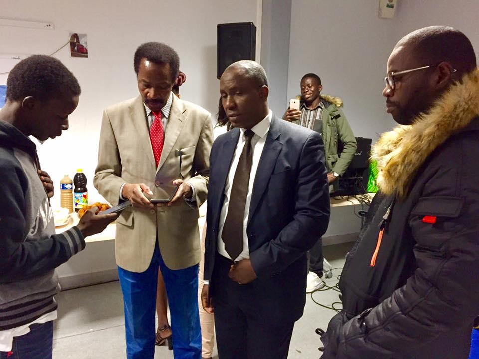 France : L'arrivée de nouveaux Étudiants Sénégalais du Havre, un pot offert (photos)