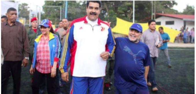 Maradona est «un soldat» de Nicolas Maduro, le président vénézuélien