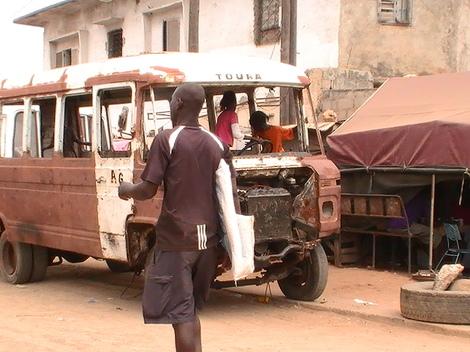 Le rallye Dakar vu de… Dakar