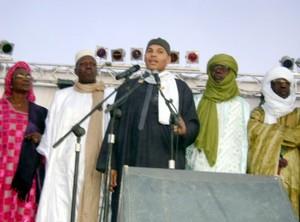 10ème édition du Festival au désert : Karim Wade était de la fête