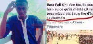 Apologie du crime aux 8 morts de Demba Diop : Bara Fall maintient ses dénégations devant le doyen des juges