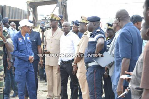 Images: Visite du Ministre de l'interieur Aly Ngouye Ndiaye au Pakk Lambaye