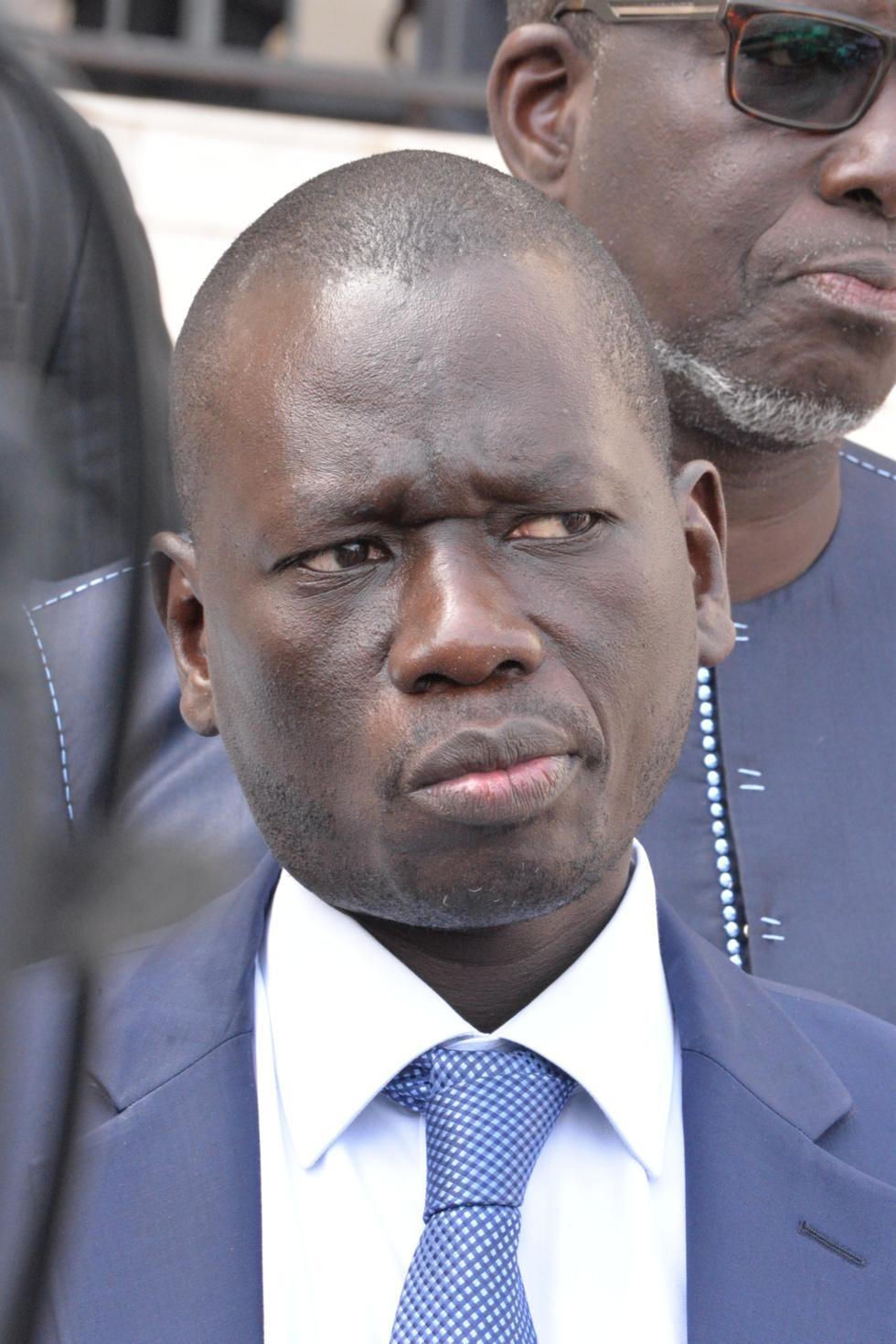 Communication du Président, Monsieur Serigne MBOUP