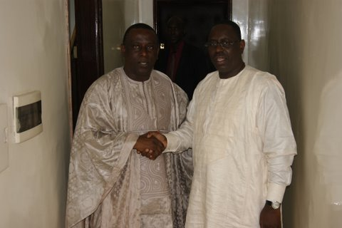 Le Président Macky Sall  «au chevet» de Cheikh Tidiane Gadio