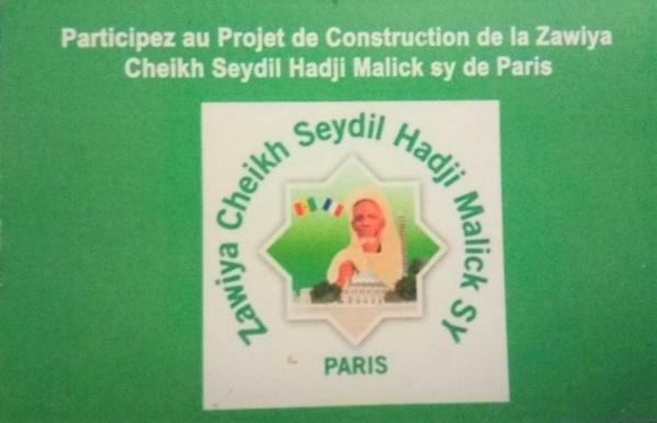 Construction de la Zawiya Cheikh Ahmed Tidjane Chérif à Paris: Aymirou Samb de l'association socio-culturelle Cheikh Seydi Hadji Malick Sy explique le projet