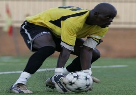 Oumar Diallo, candidat au poste de préparateur des gardiens