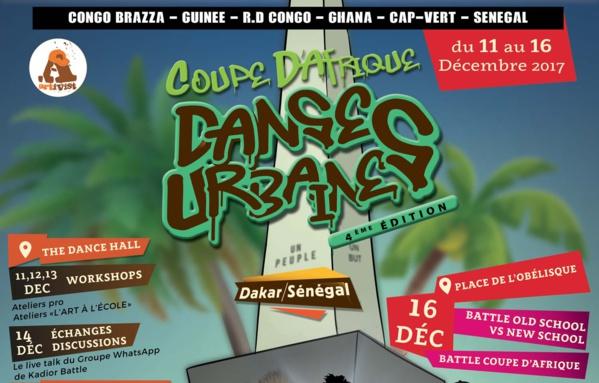 Communiqué de presse de la Coupe d'Afrique de Danses Urbaines