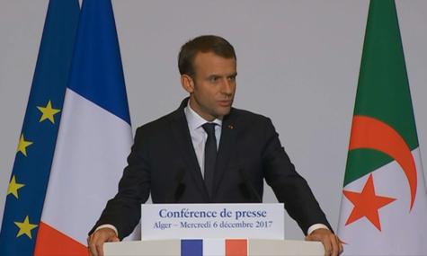 """Pour Macron, la décision de Trump sur Jérusalem est """"regrettable"""""""