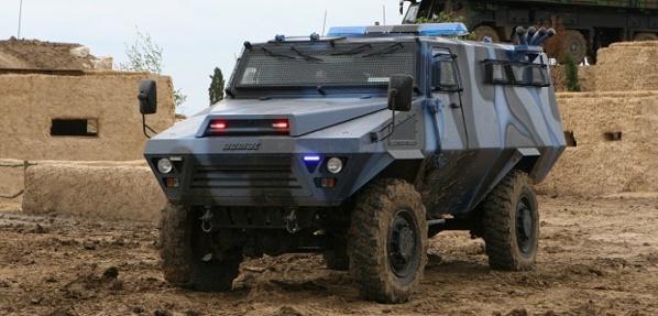 Equipements : La gendarmerie sénégalaise acquiert 13 blindés PVP et neuf Bastion