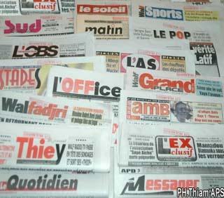 La lutte sénégalaise dans les médias.