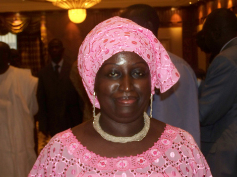 Penda Mbow, historienne, lors du lancement de la Lettre du citoyen