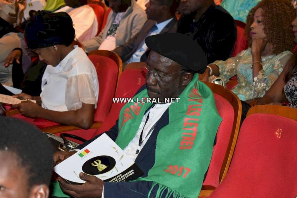 Cérémonie de remise de prix du président de la République pour les Arts et les Lettres