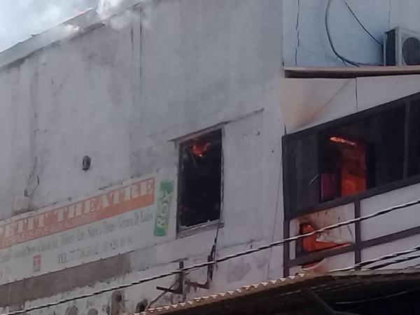 Urgent :  Le «  Five » et le Petit Théâtre ravagés par un incendie aux Almadies