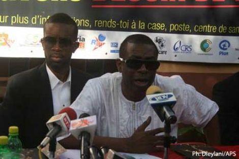 """Paludisme Youssou Ndour veut éradiquer l'anophèle avant 2015: """"Moi je suis un gagneur…"""""""