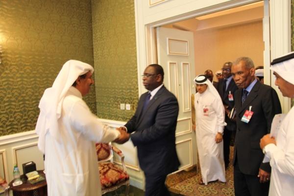 """Arrivée de l'Émir du Qatar à Dakar: une visite d'Etat placée sous """" haute surveillance"""""""