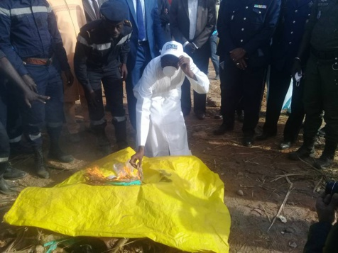 Incinération de drogues : Plus de 4 tonnes réduites en cendres