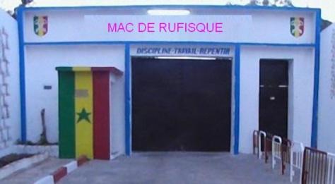 Évasion: 2 ans ferme requis contre des matons de la prison de Rufisque