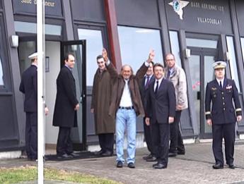 L'ex-otage français Pierre Camatte est arrivé à Paris