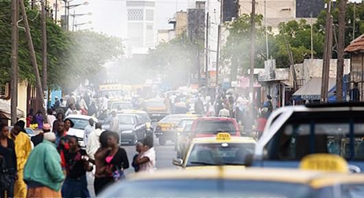 Alerte rouge sur la pollution de l'air à Dakar