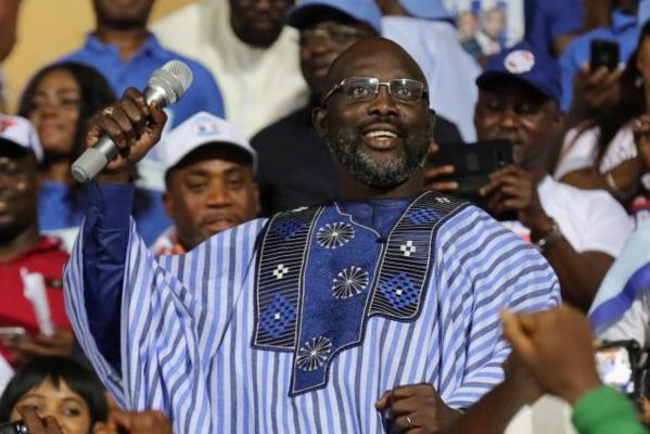 GEORGE WEAH, Étoile Africaine du foot, pourrait devenir président du Libéria