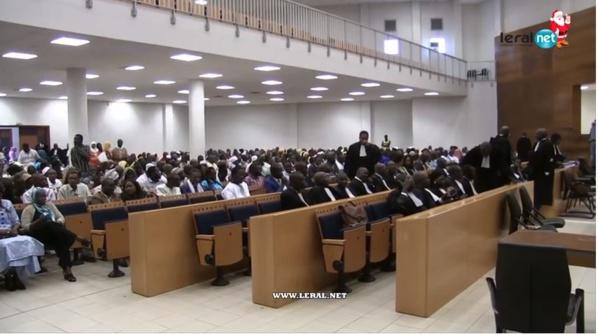 Palais de Justice:  40 nouveaux greffiers du CFJ ont prêté serment