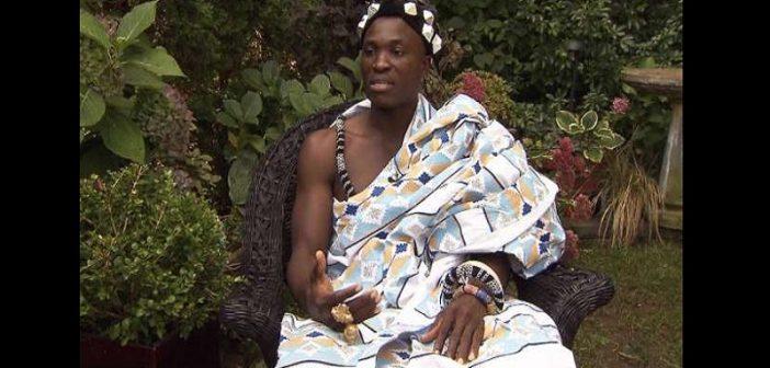 Découvrez ce roi africain qui travaille comme jardinier au Canada, pour développer son village