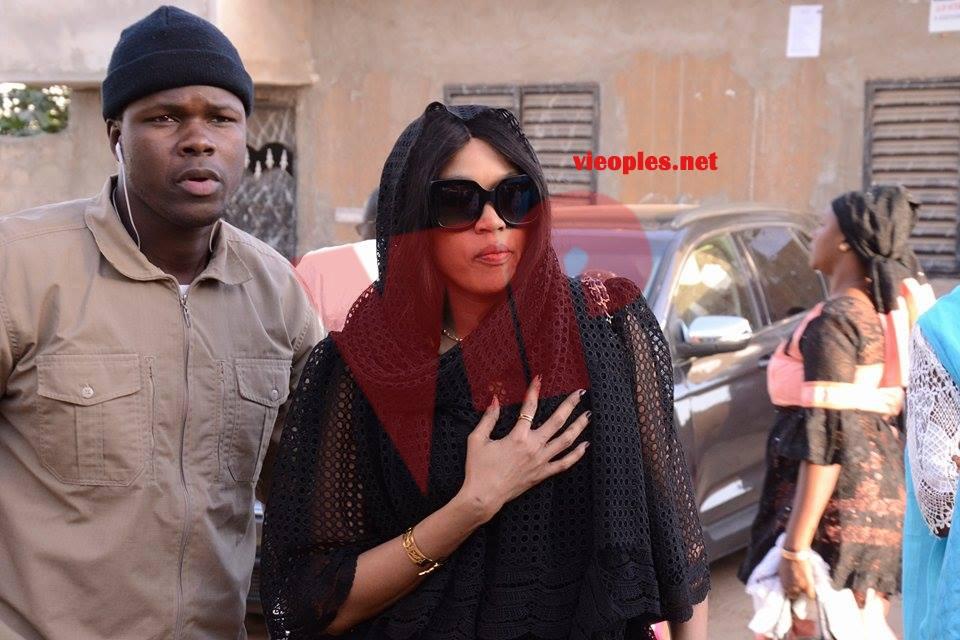 ( 09 Photos ) Collé Faye chez Pape Diouf, pour présenter ses condoléances