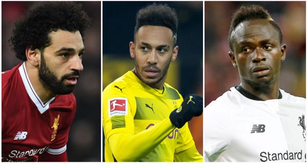 Ballon d'or 2017 – Salah, Mané et Aubameyang - Qui succèdera Riyad Mahrez ?