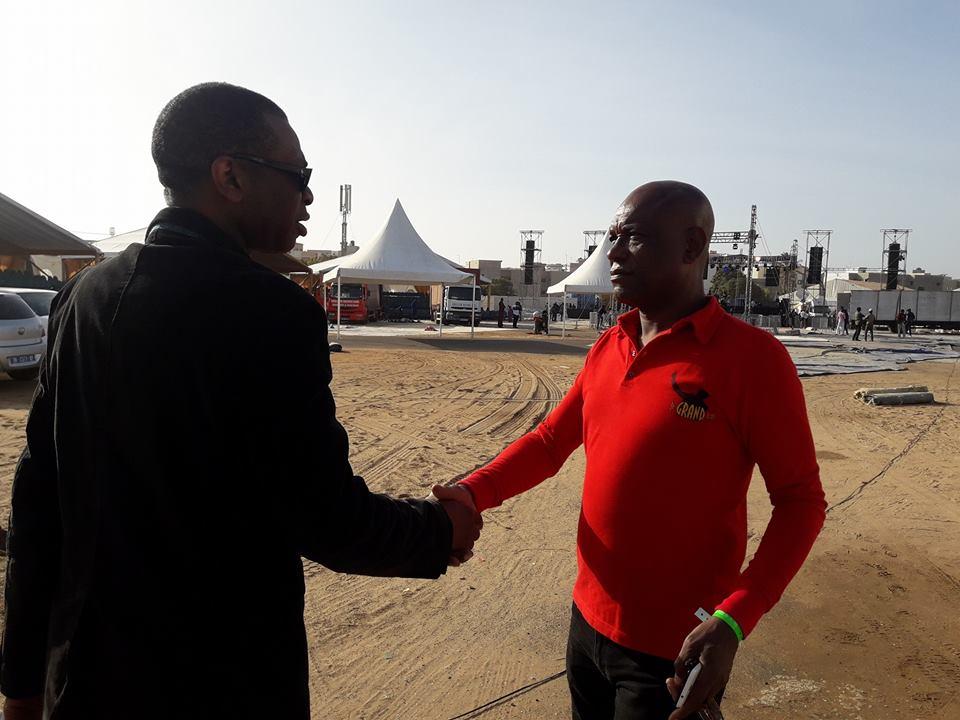 Les première images du Concert de Youssou Ndour au Cices