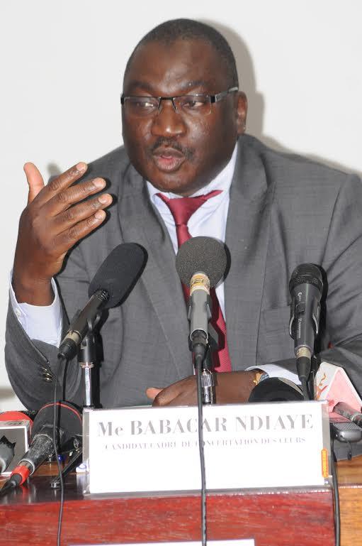 Affaire des 300 millions FCFA de l'Afro-basket - Le président de la Fédération, Me babacar Ndiaye livre sa part de vérité