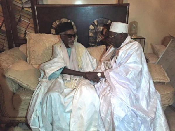 Fraternité Musulmane : Serigne Abdoul Aziz Sy Al Amine chez Serigne Cheikh Sidy Makhtar Mbacke