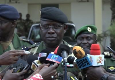 """Général Cheikh Guèye: """"Qu'ils soient sur terre, dans la mer ou dans les airs, les criminels seront recherchés..."""""""