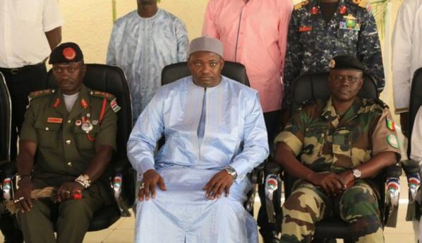 Sécurité d'Adama Barrow : Les gendarmes sénégalais vont partir