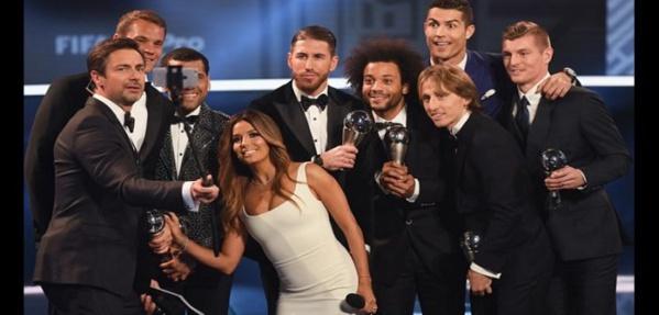 Football: L'UEFA dévoile le onze de l'année 2017. Une grande star absente de la liste.