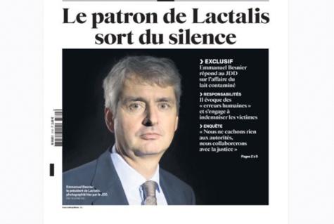 Scandale du lait contaminé : le PDG de Lactalis sort de son silence, des centaines de plaintes tombent sur sa tête