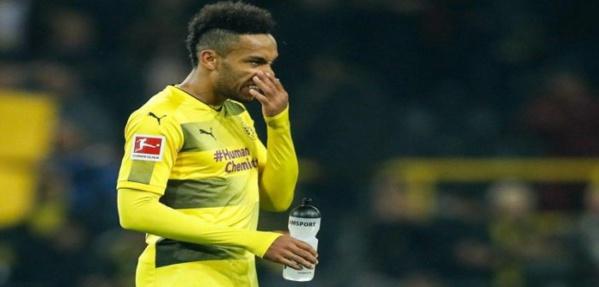 Football: Le Borussia Dortmund suspend à nouveau Aubameyang