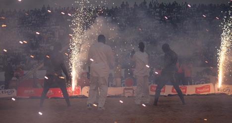 Une ambiance de feu à Demba Diop