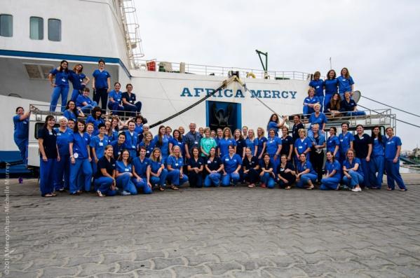 """""""Africa Mercy"""": Près de 2500 opèrations prévues dans le Bateau-hôpital"""