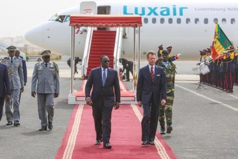 Le Grand Duc de Luxembourg est en visite officielle de trois jours au Sénégal